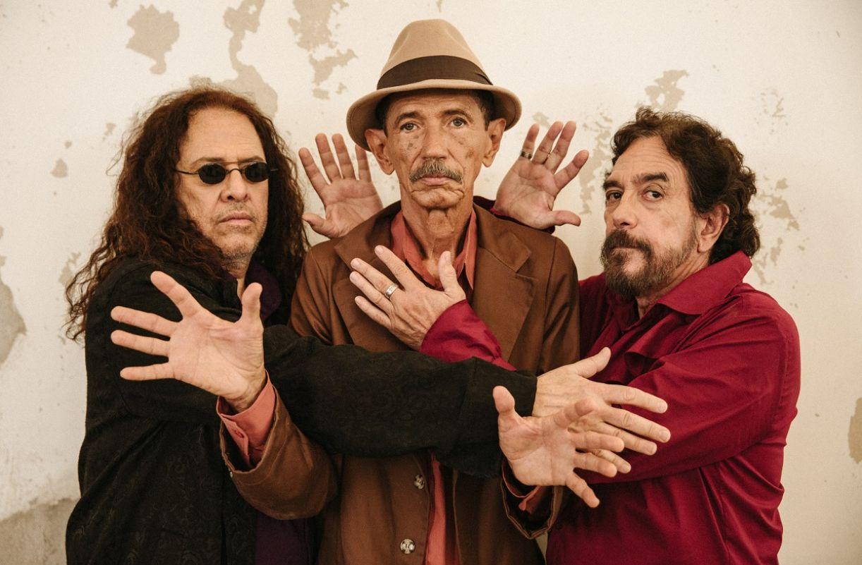 Paulo Rafael, Almir de Oliveira e Marco Polo, os remanescentes da banda