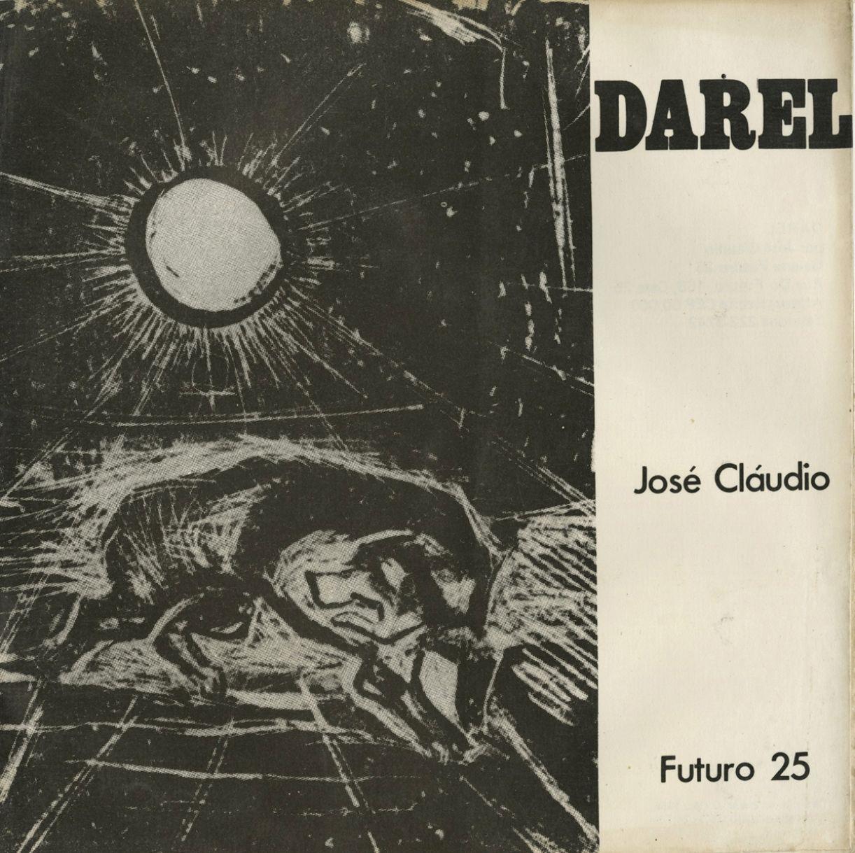 Capa do catálogo da exposição de Darel Valença na galeria Futuro 25