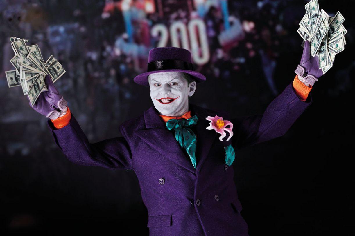 Ao atrelar seu contrato ao lucro de 'Batman', Jack Nicholson bateu recorde de cachê