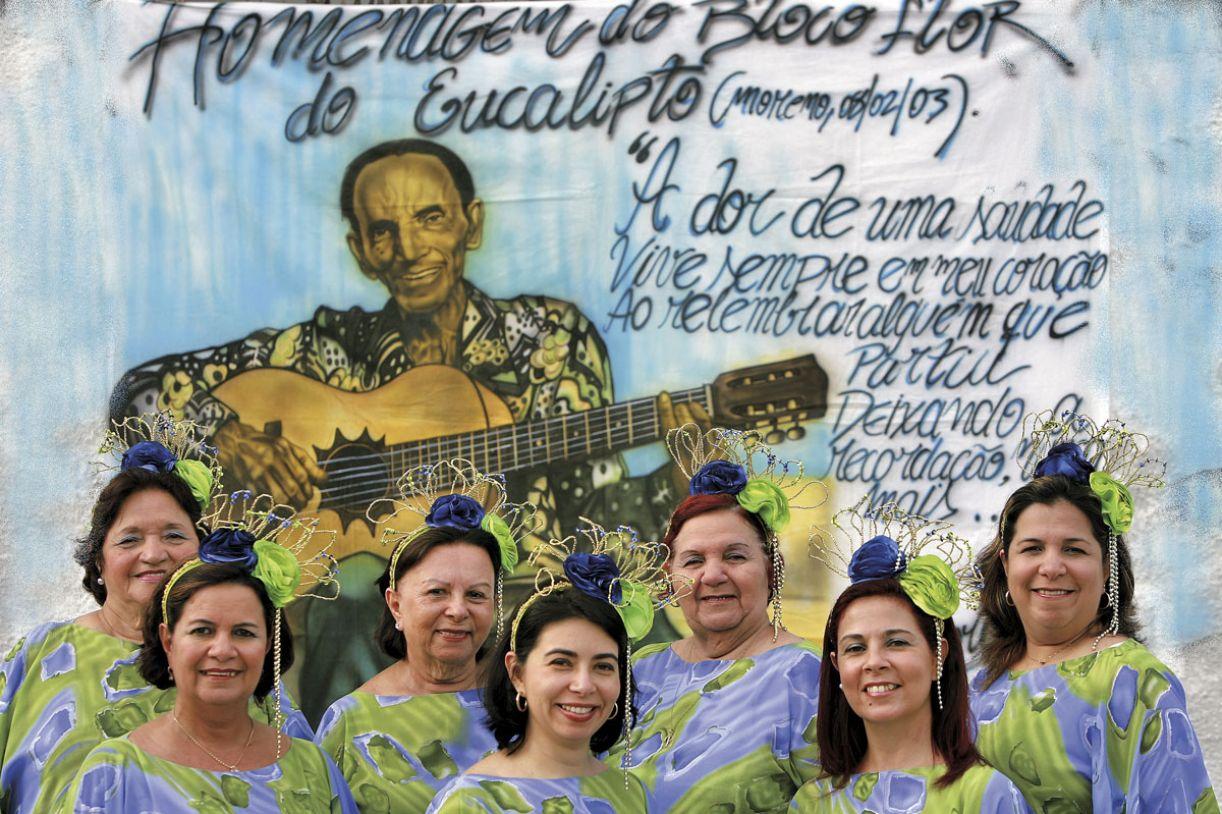 Filhas, netas e sobrinhas de Edgard Moraes levam à frente sua obra