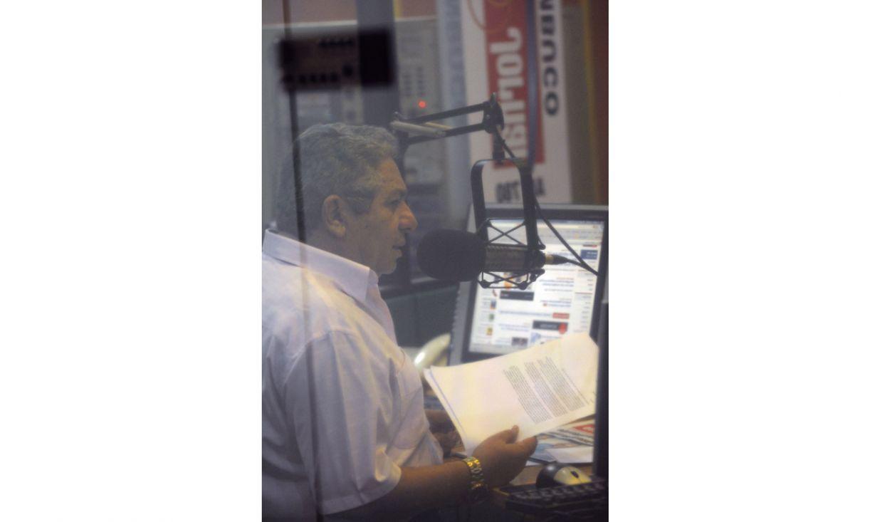 O radialista Geraldo Freire pensa em jornalismo 24 horas por dia