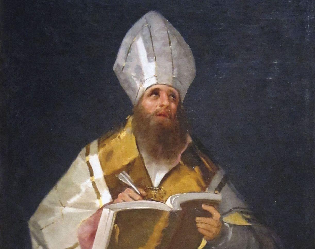 Santo Ambrósio foi um ávido leitor, grande intérprete da Bíblia