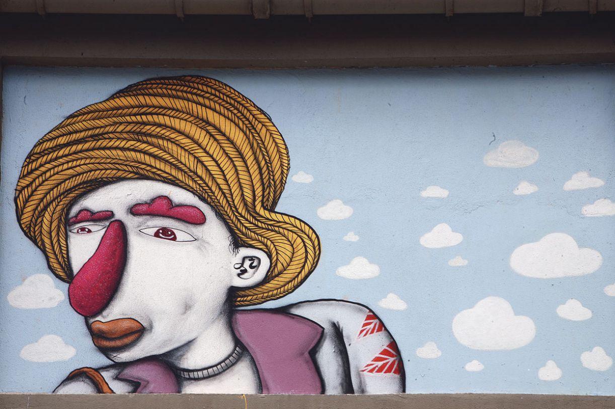 Assim como outros grafiteiros, Galo já impõe sua marca