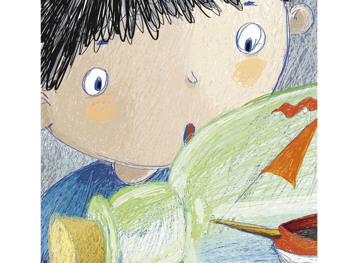 Livro 'O mar de Fiote' traz texto e ilustrações de Mariângela Haddad