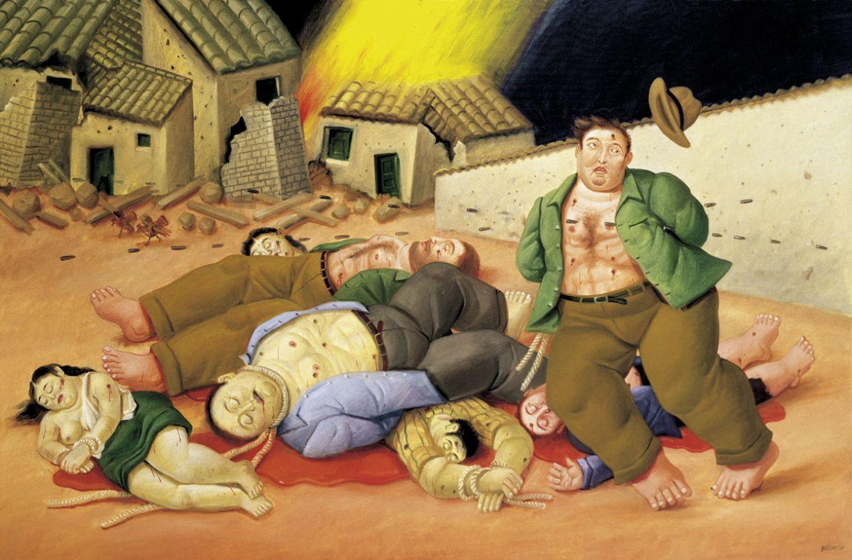 'Massacre na Colômbia'. Violência, desolação e morte, que não escolhem sexo ou idade