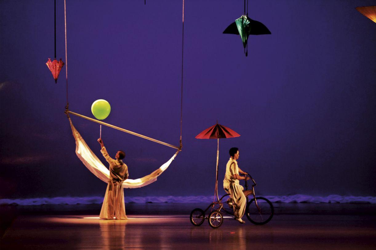 Espetáculo 'LUB DUB', do Balé Teatro Castro Alves