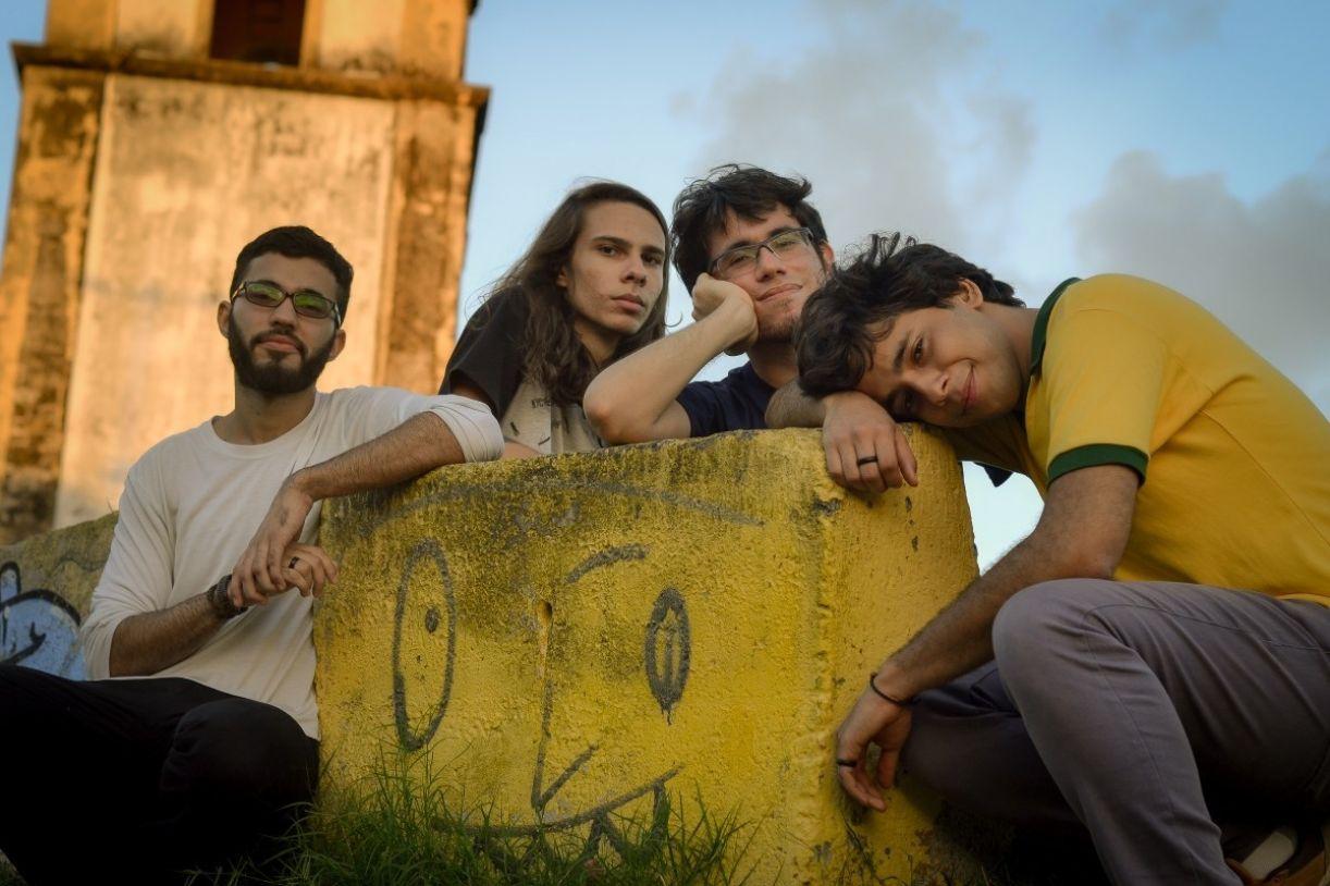 A banda pernambucana Gelo Baiano é uma das atrações