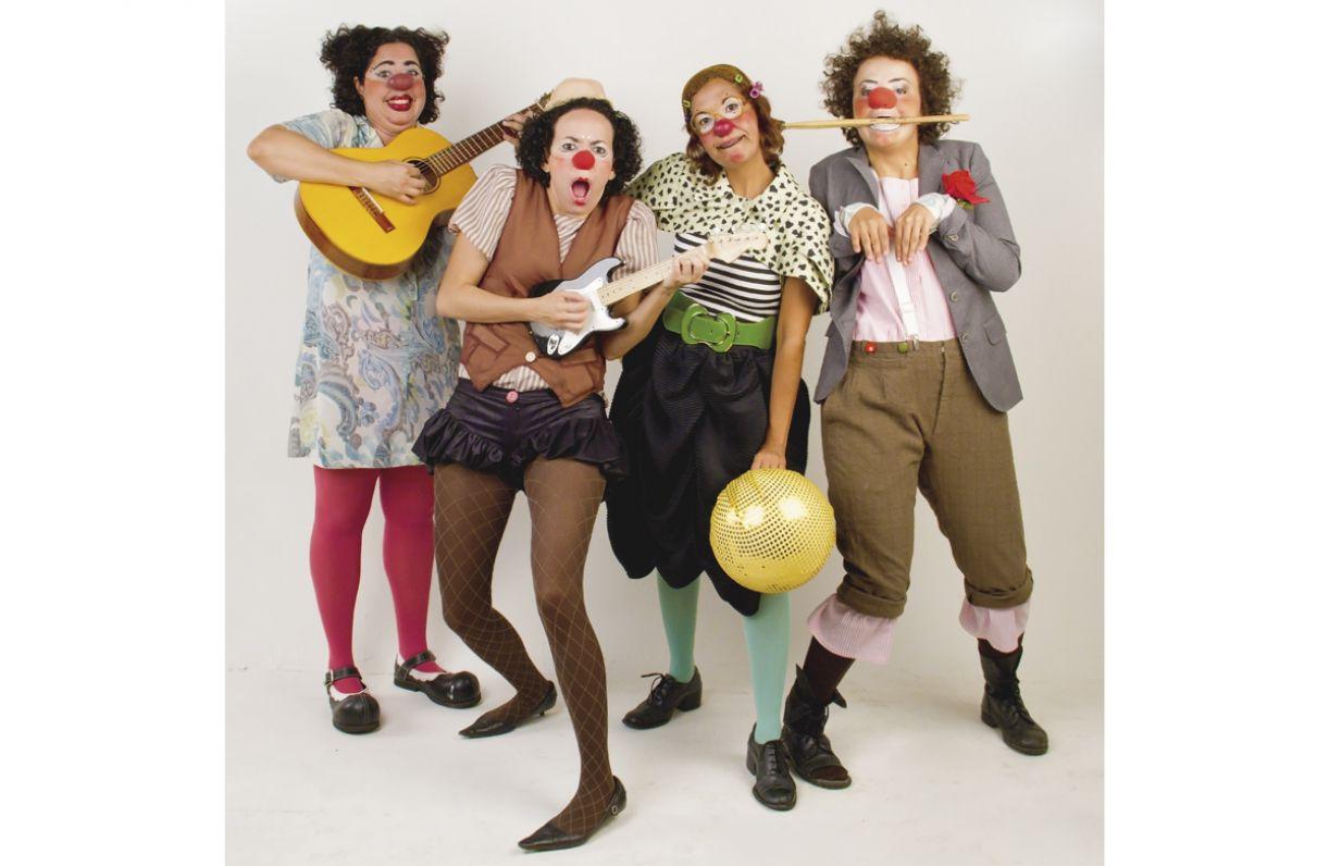 Com cinco anos de atuação, a Cia Animé criou a banda As Levianinhas