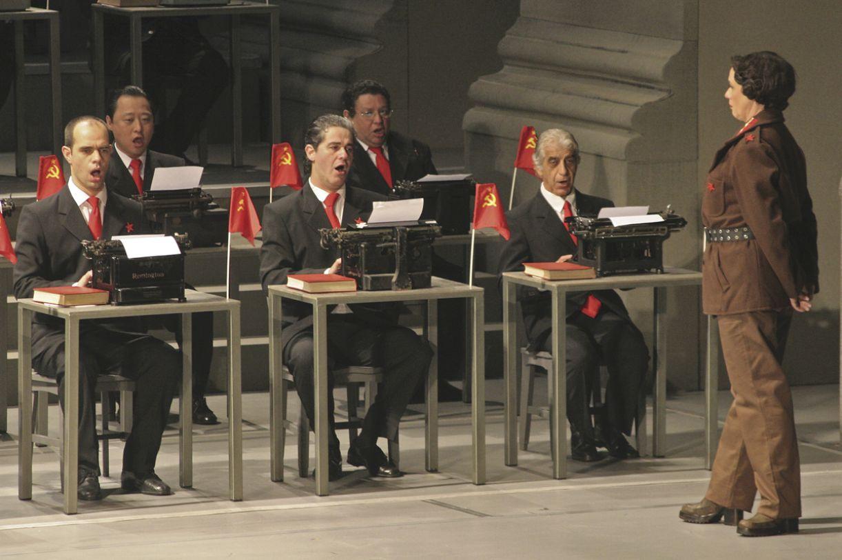 'Olga', ópera de Jorge Antunes recapitula a trajetória da militante comunista