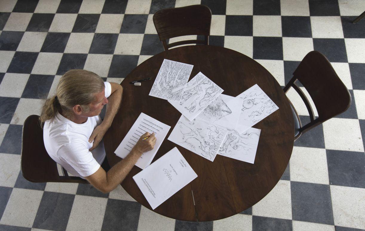 Romero de Andrade Lima prepara-se para a tradução do 'Paraíso'