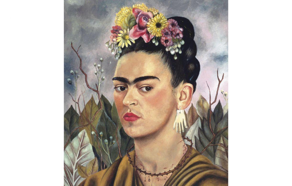 Artista em um de seus autorretratos - este é datado de 1940