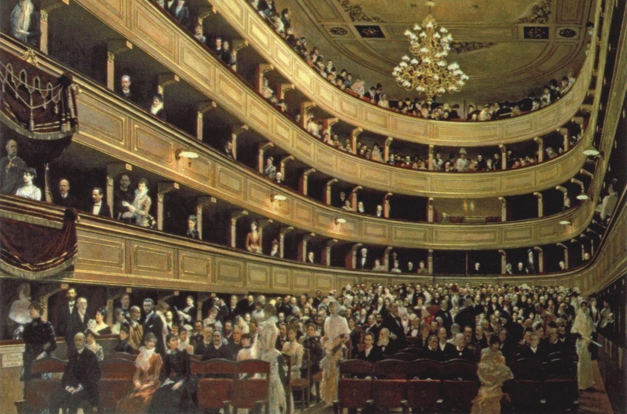 Viena também se constitui um centro de irradiação cultural, tendo o Burgtheater como referência