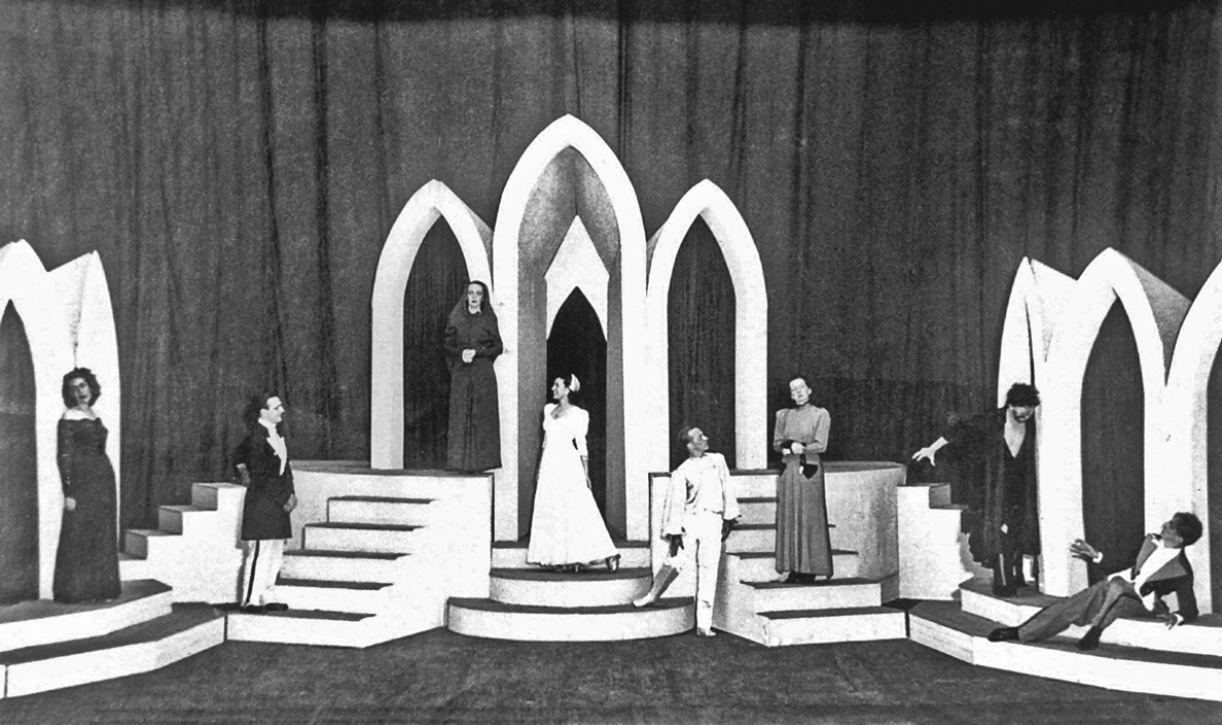 O espetáculo 'A comédia e o coração', de 1944, marca a atualização estética do grupo