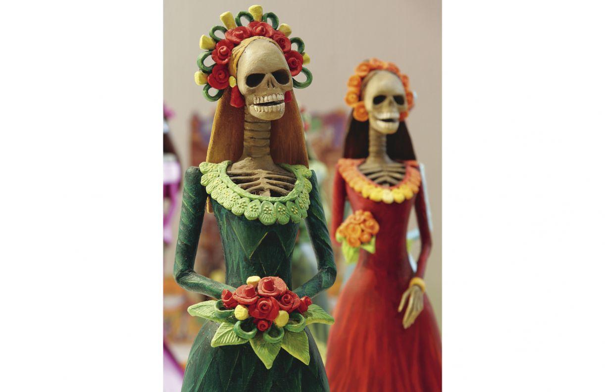 Ícone da festa mexicana, Catrina representa uma dama da alta sociedade, para mostrar que todos são iguais diante da morte