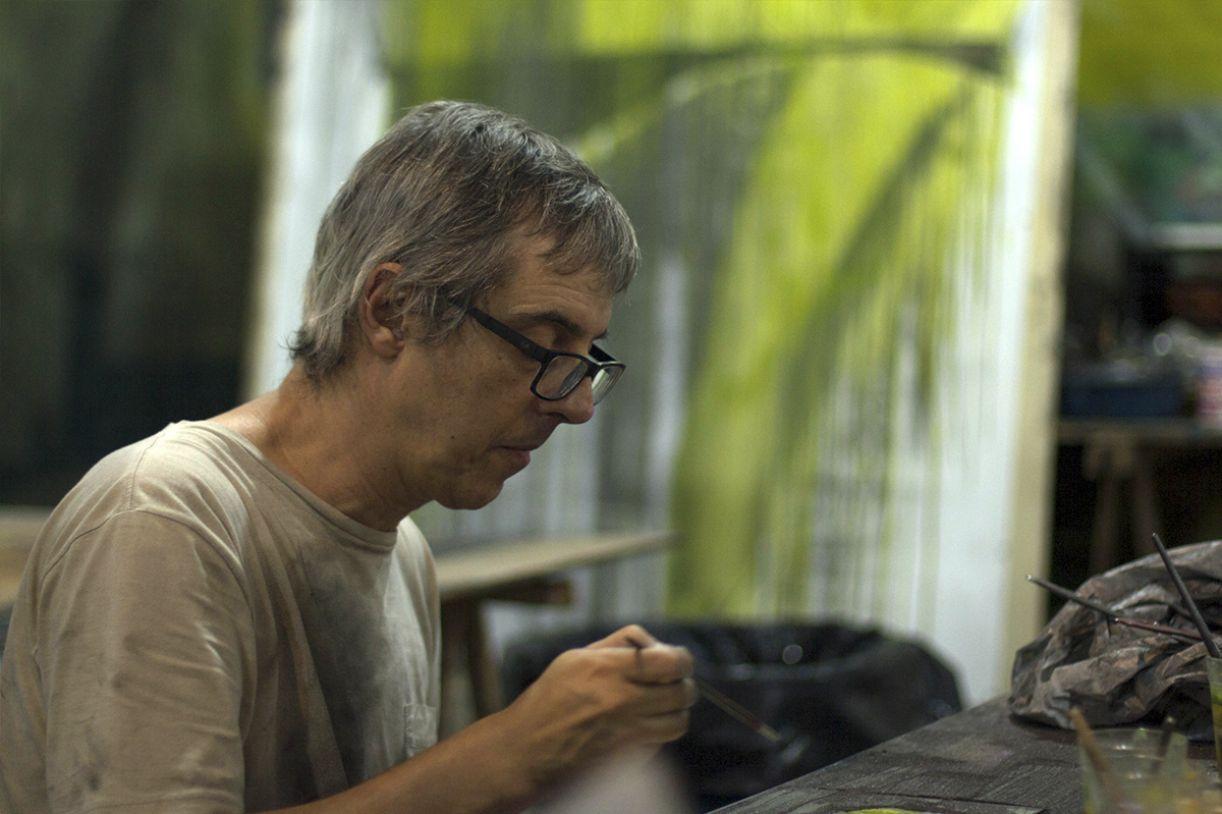 O artista Nuno Ramos