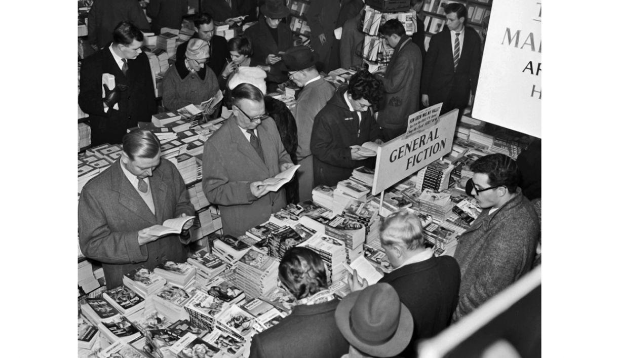 As livrarias londrinas atraem milhares de leitores, há mais de um século