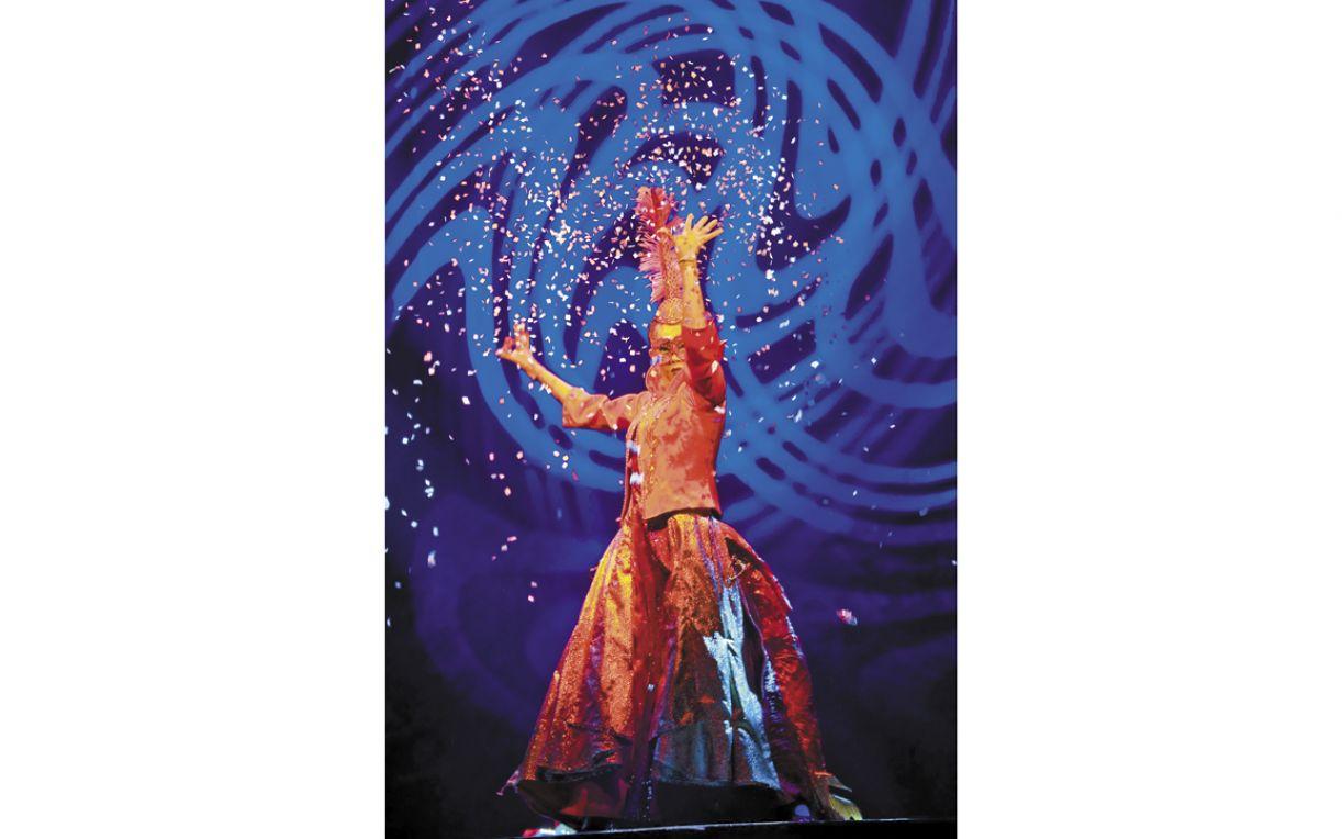 Espetáculo, que estreou no ano passado, percorre oito capitais brasileiras