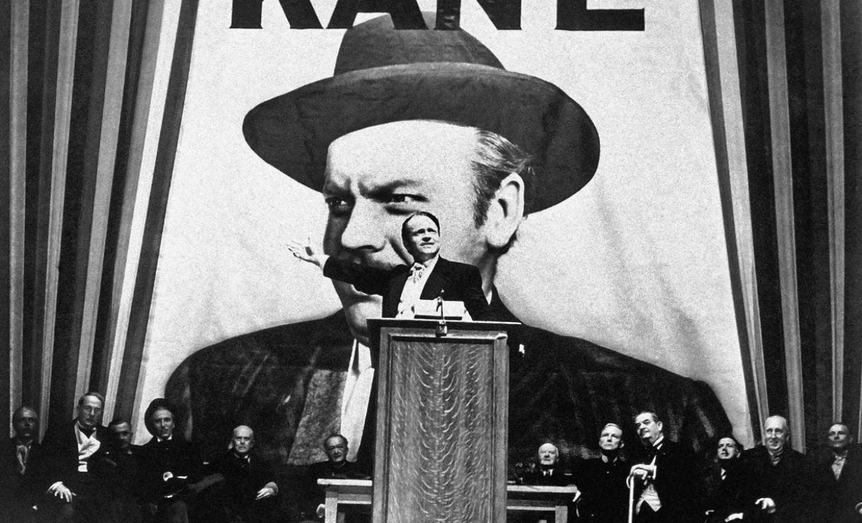 No filme, é emblemática a figura central do diabólico magnata da mídia