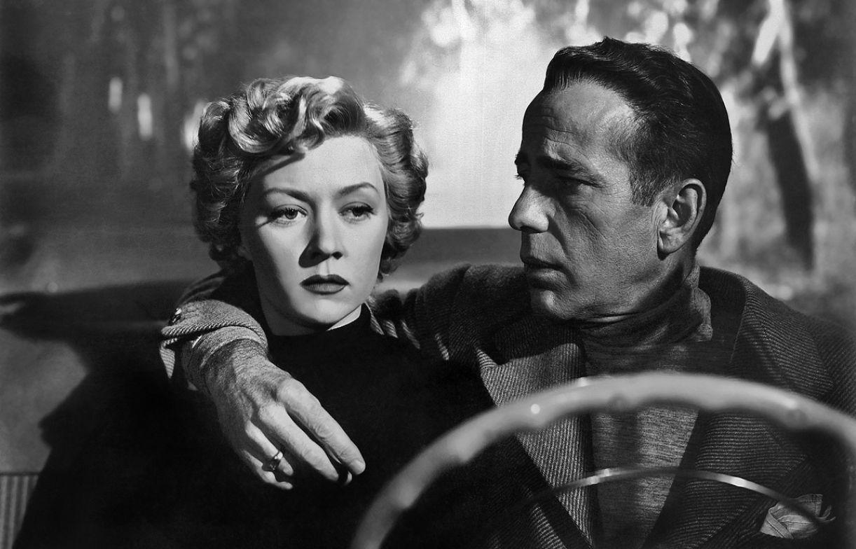 'In a lonely place', dos anos 1950, tem como personagem principal o roteirista Dixon Steele