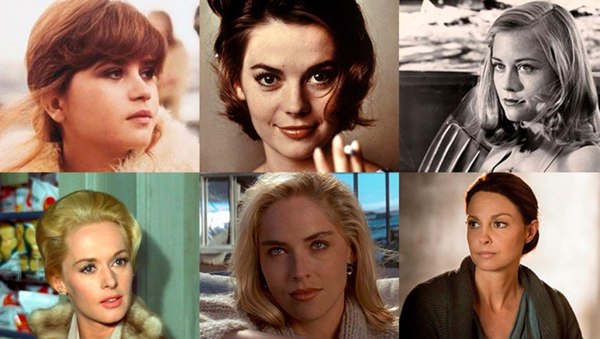 Maria Schneider, Natalie Wood, Cybill Shepherd, Tippi Hedren, Sharon Stone e Ashley Judd