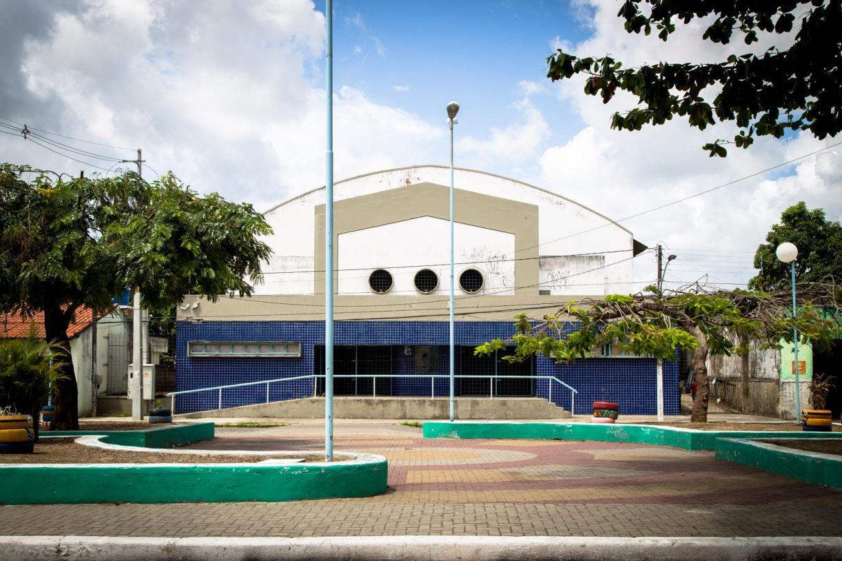 Cine Teatro Bianor Mendonça Monteiro, na Vila da Fábrica, em Camaragibe
