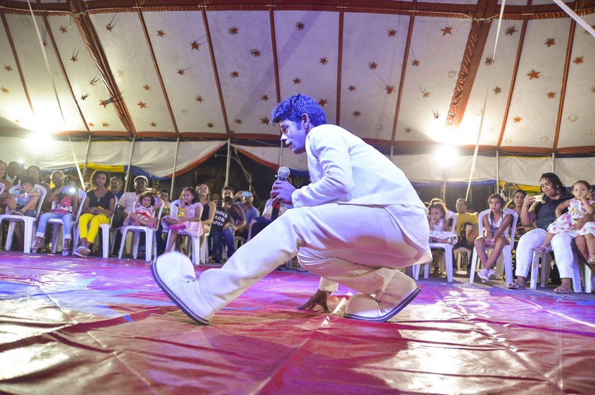 Espetáculo da 9ª Mostra de Circo do Recife