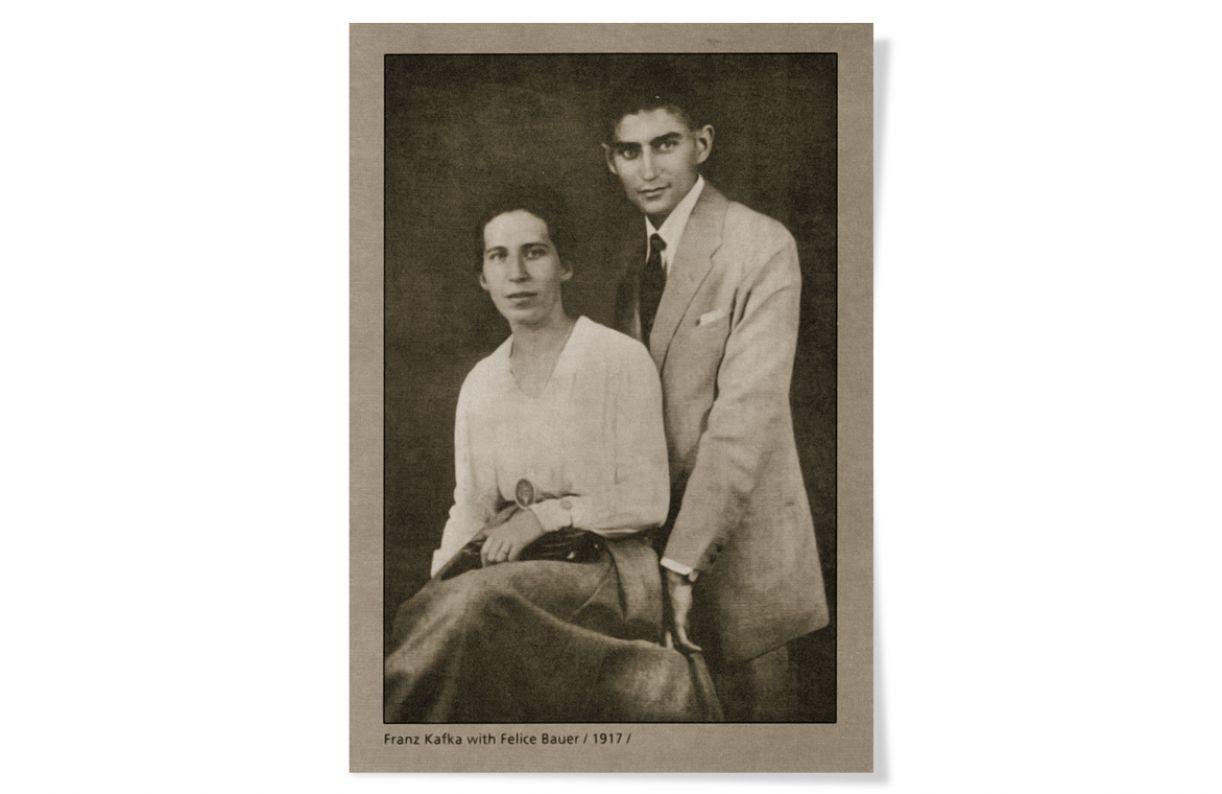 Durante cinco anos, Felice Bauer e Franz Kafka trocaram longas cartas, publicadas, posteriormente, em 1967