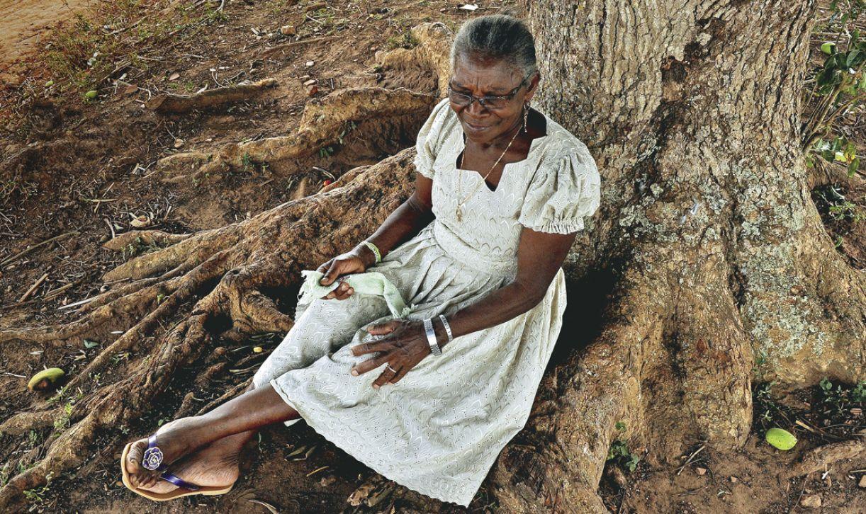 Dona Edite é a porta-voz da memória cultural de sua comunidade