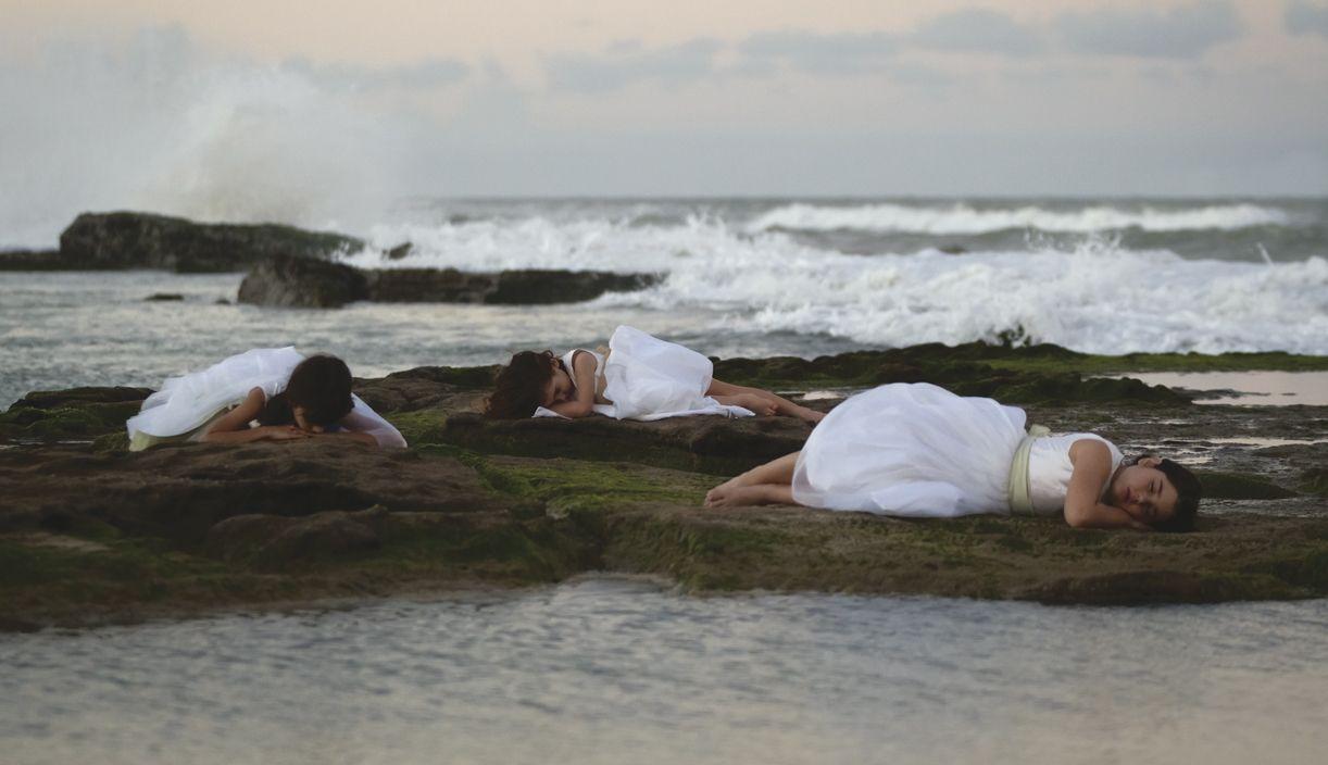 A fotografia de ação foi realizada na praia de Brasília Teimosa, no Recife