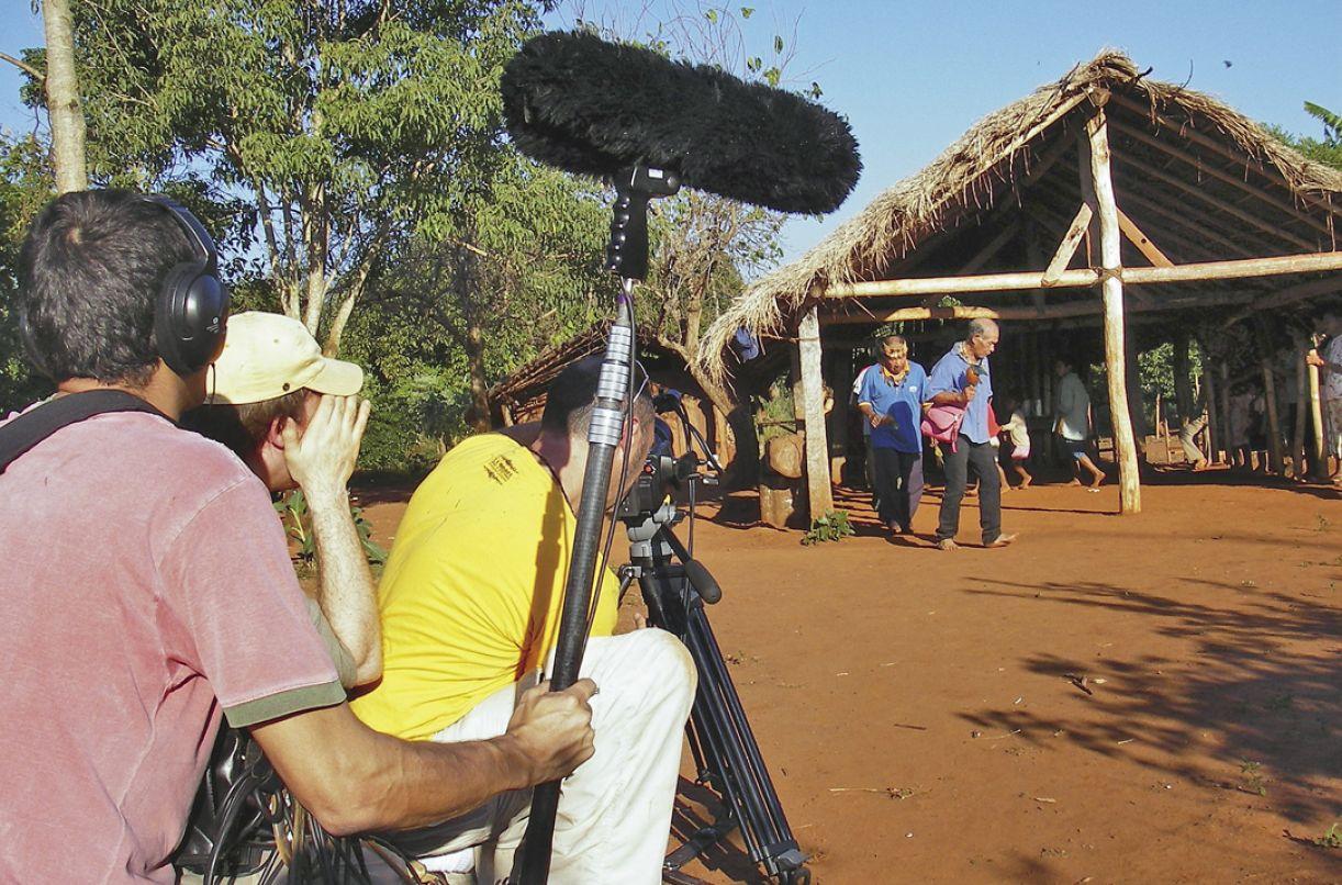 Making of do documentário 'Os paraguaios', que integra a série 'Os latino-americanos' produzidos pela TAL