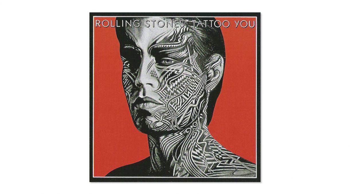A capa do disco 'Tattoo you' (1981), dos Rolling Stones, ajudou a disseminar a tatuagem