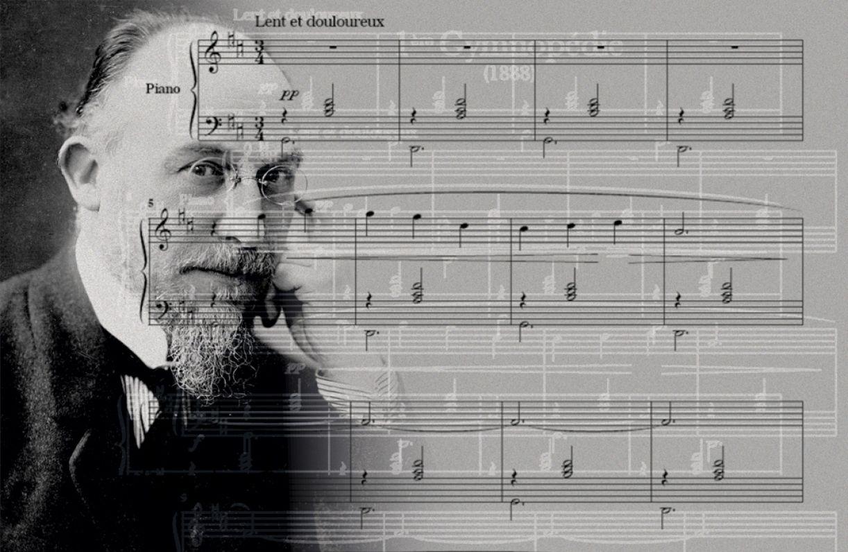 Música do compositor francês Erik Satier pode ser vista como precursora do Minimalismo com características do Impressionismo
