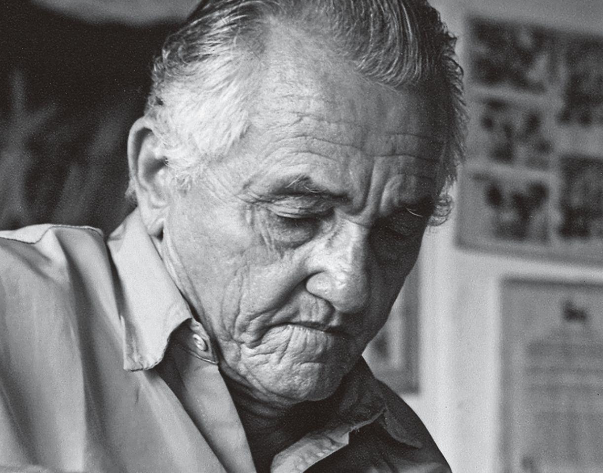 O xilogravurista Jota Borges