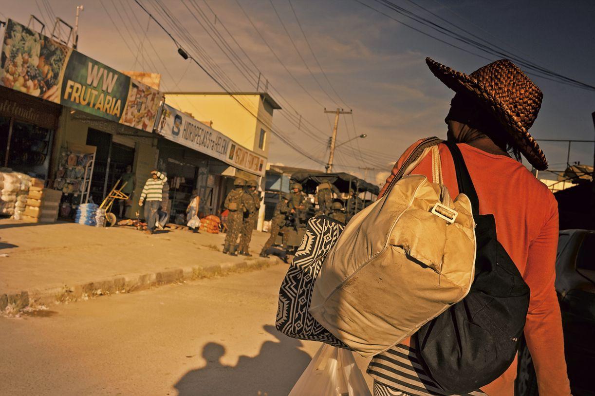 Em Pacaraima, 96.094 venezuelanos procuraram a Polícia Federal para solicitar regularização migratória até novembro de 2018