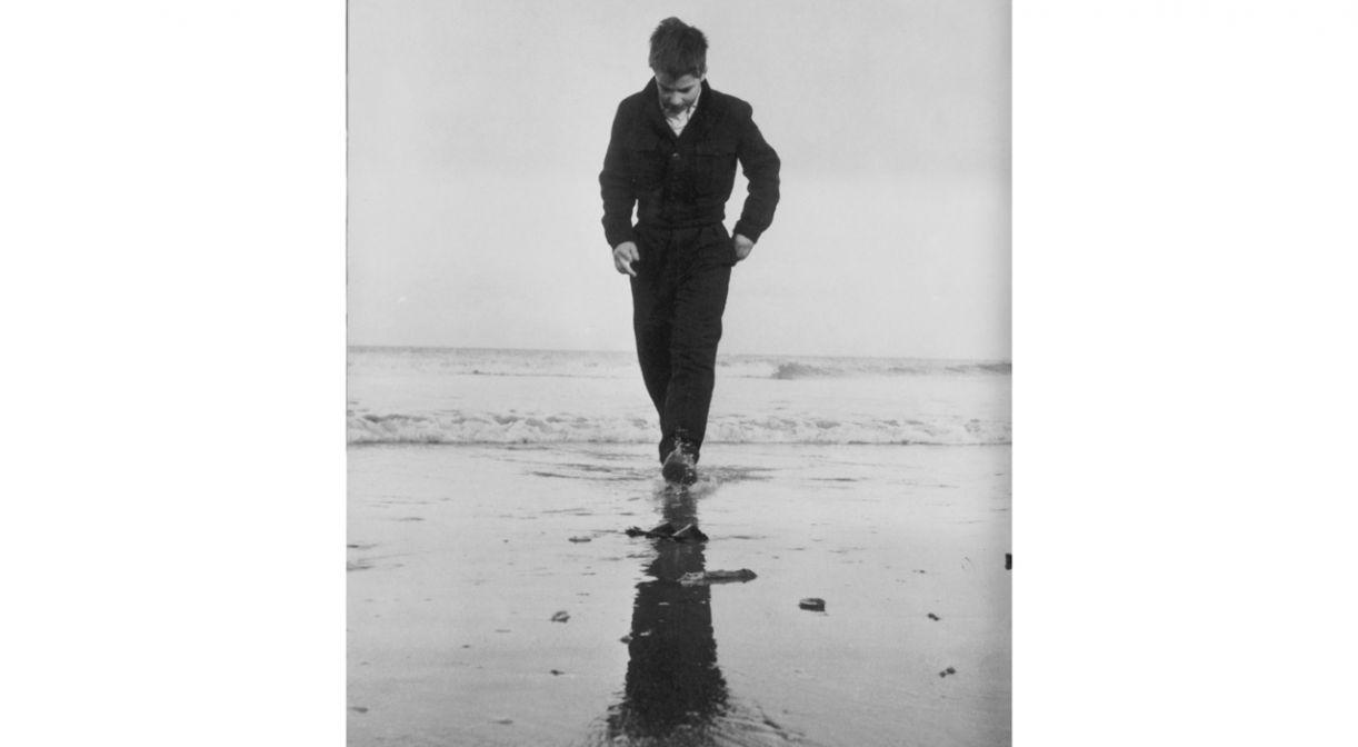 Pierre Léaud no encerramento de 'Os incompreendidos' (1959). O diretor deixou seu público intrigado com a cena final do longa