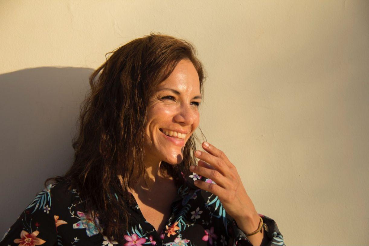 A atriz paraguaia Ana Ivanova