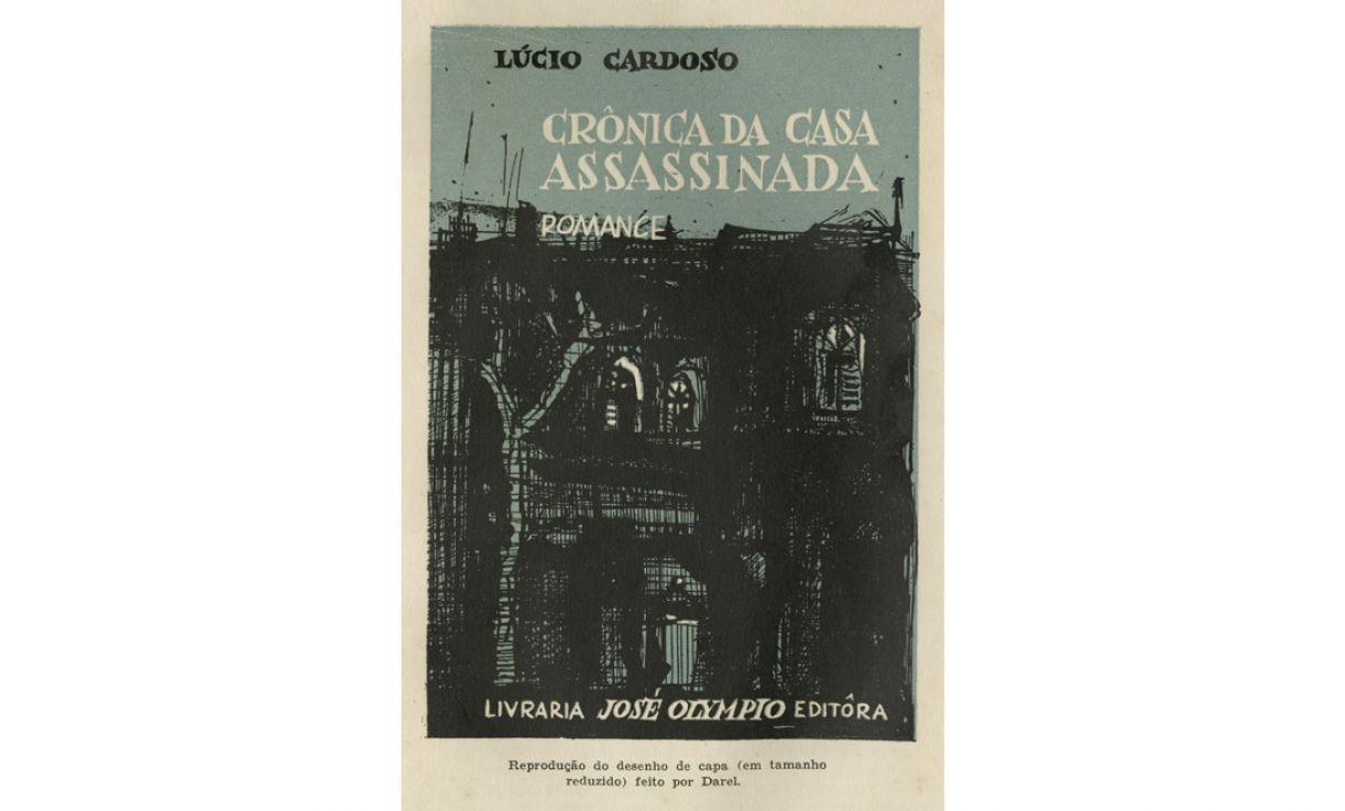 Capa do romance 'Crônica da casa assassinada', de Lúcio Cardoso