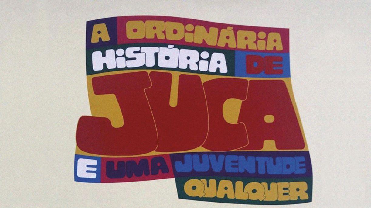 Recorte da capa de A ordinária história de Juca e uma juventude qualquer