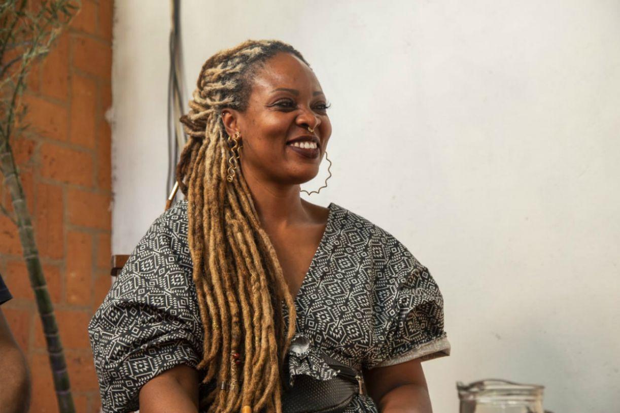 Ketty Valencio, bibliotecária e empresária, criadora do Africanidades
