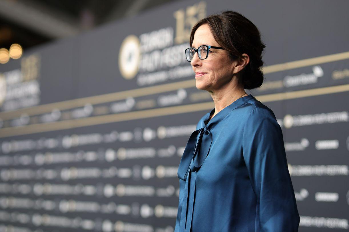 A diretora em uma das sessões no Festival de Zurique