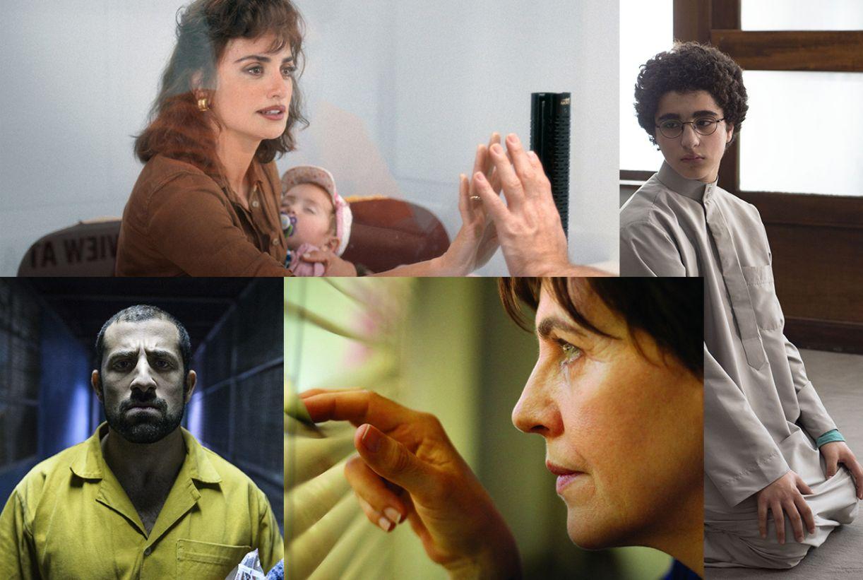 Colagem de quatro filmes de nossa seleção a partir de fotos de divulgação