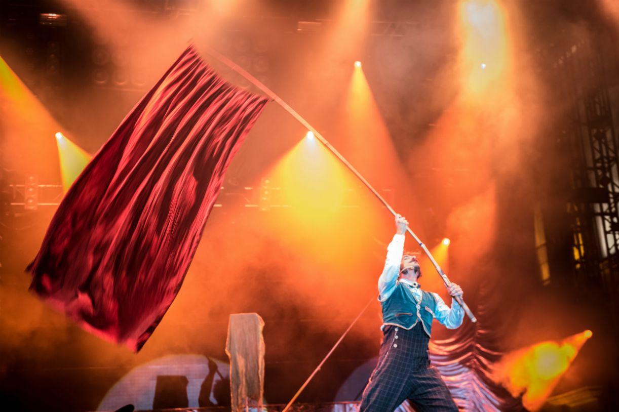 Circo levanta a bandeira da superação em seu festival