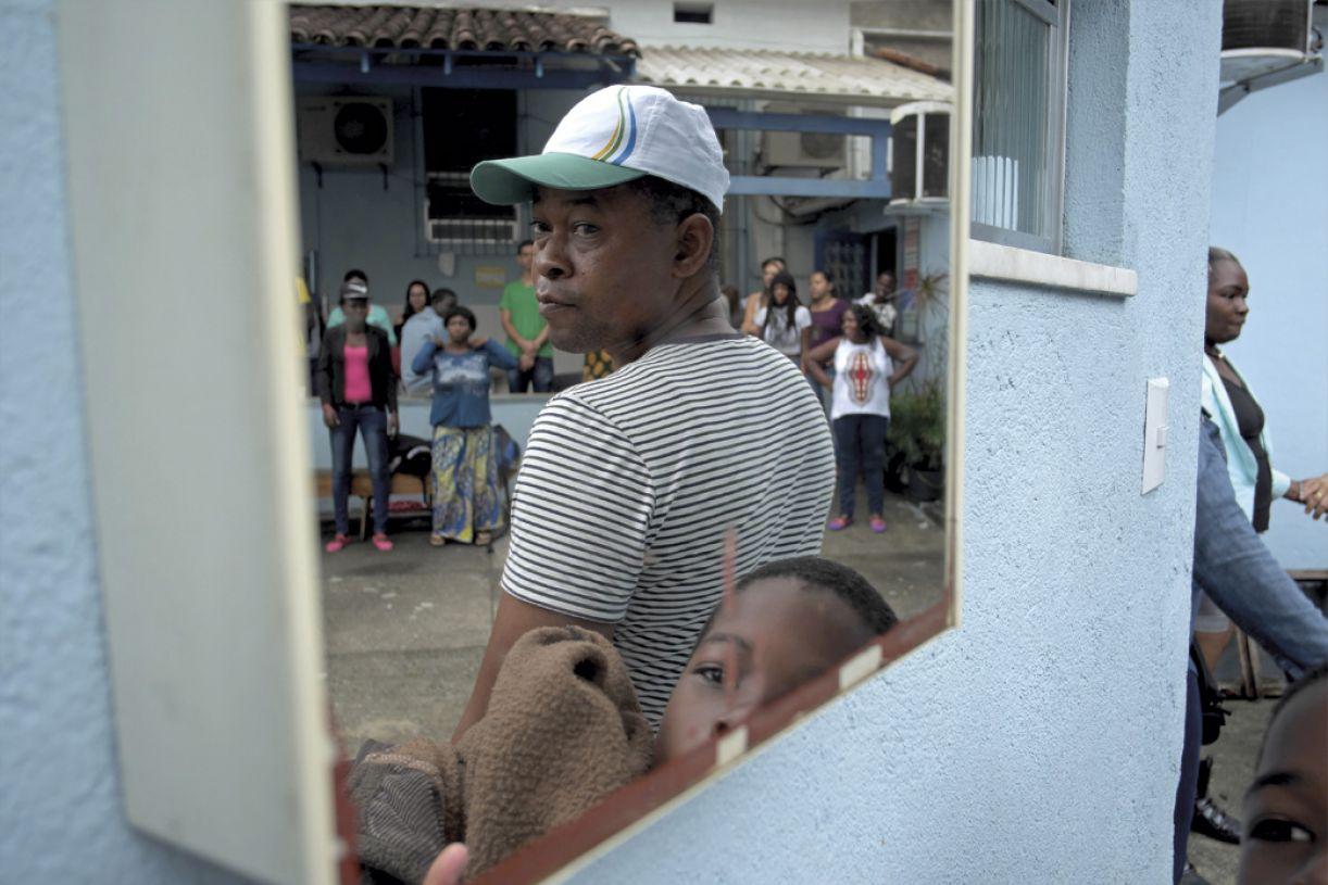 No Rio de Janeiro, onde esta reportagem foi realizada, a República do Congo é a principal fonte de solicitantes de refúgio