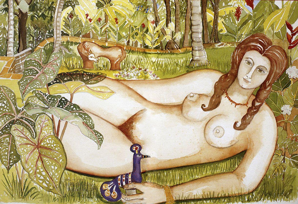 As três obras de Guita Charifker censuradas na exposição da Caixa Cultural