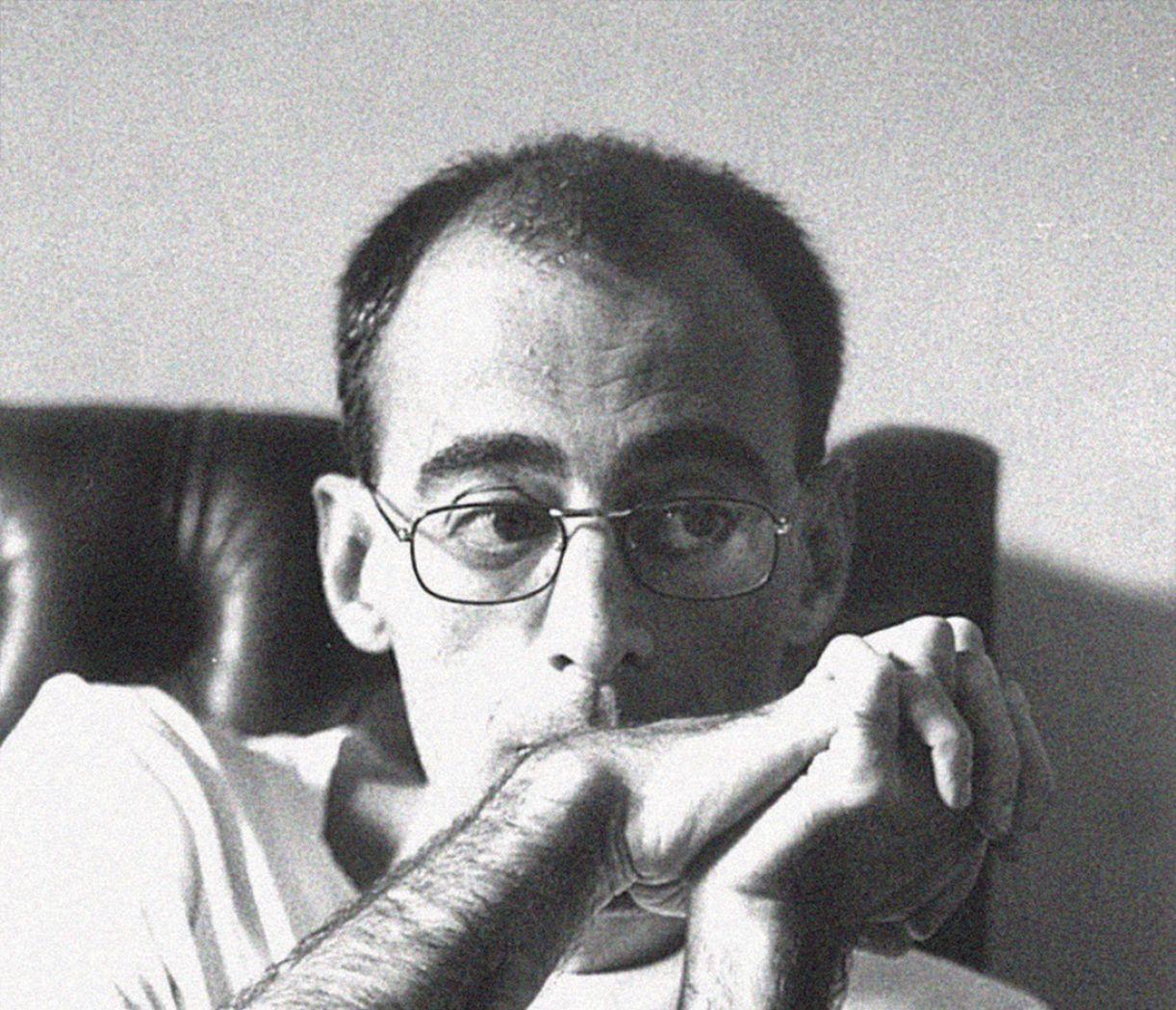 O escritor gaúcho Caio Fernando Abreu