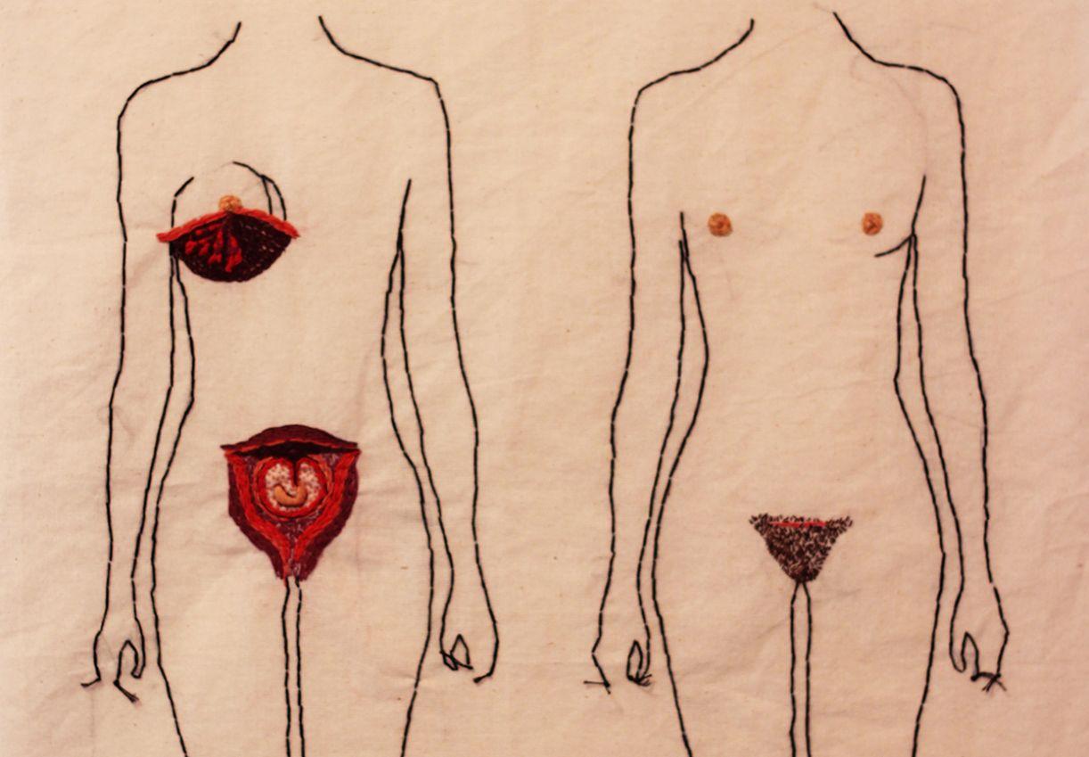 Obra 'Avesso', de Clara Nogueira, traz a questão da mulher e do movimento feminista para suas linhas