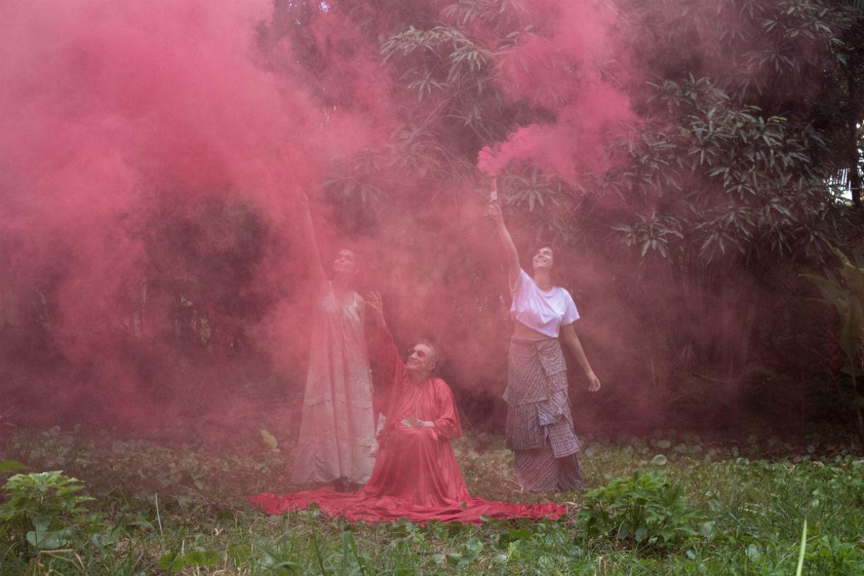 Tereza Costa Rêgo, Clara Moreira e Juliana Lapa