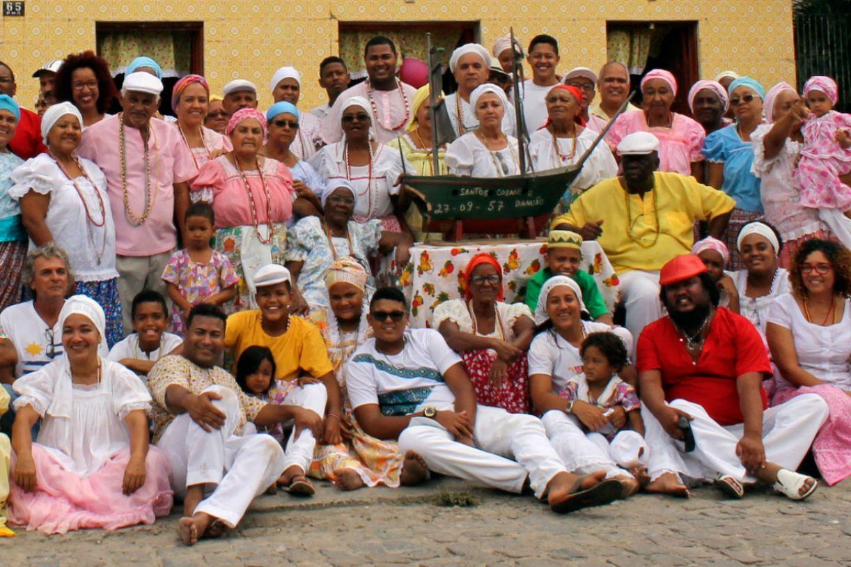 Nação Xambá, localizada em Olinda