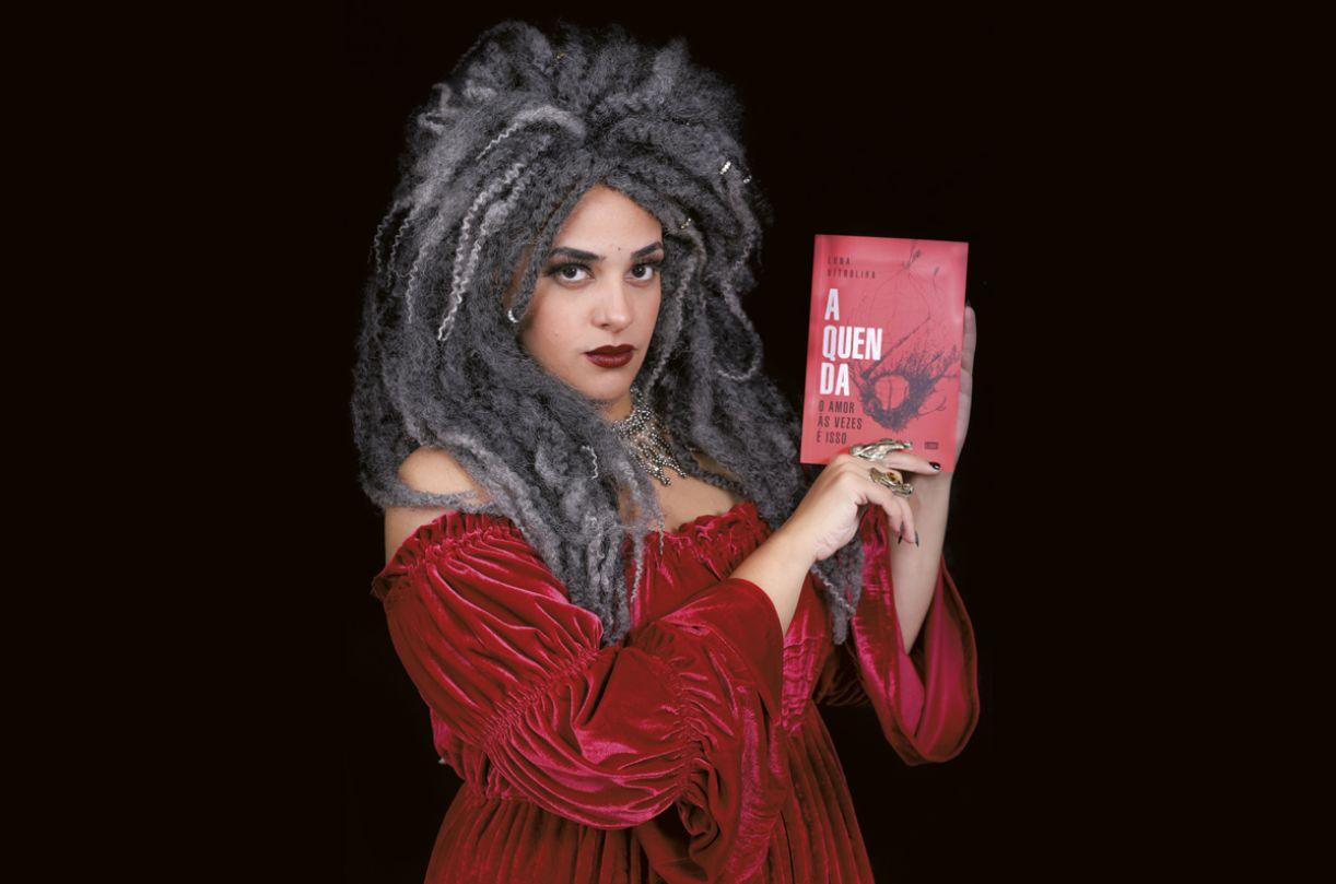 Luna Vitrolira, escritora, performer e pesquisadora