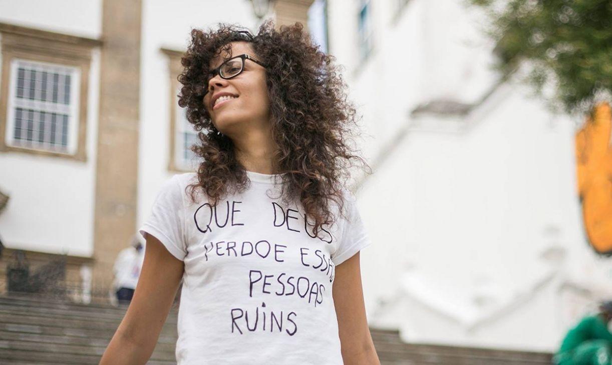 A cineasta Letícia Simões